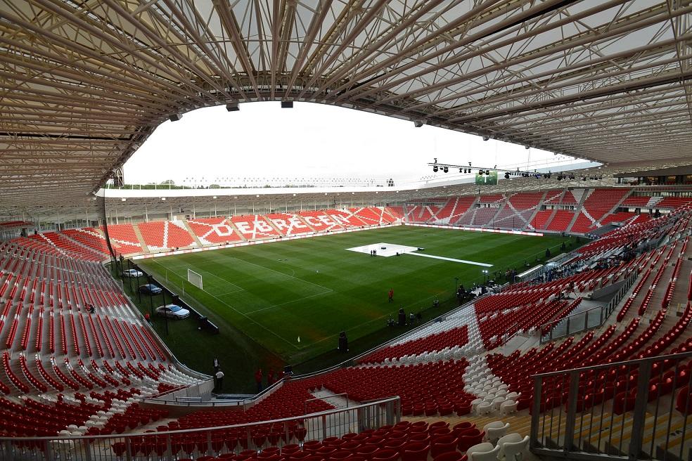 Nagyerdei Stadion Belső